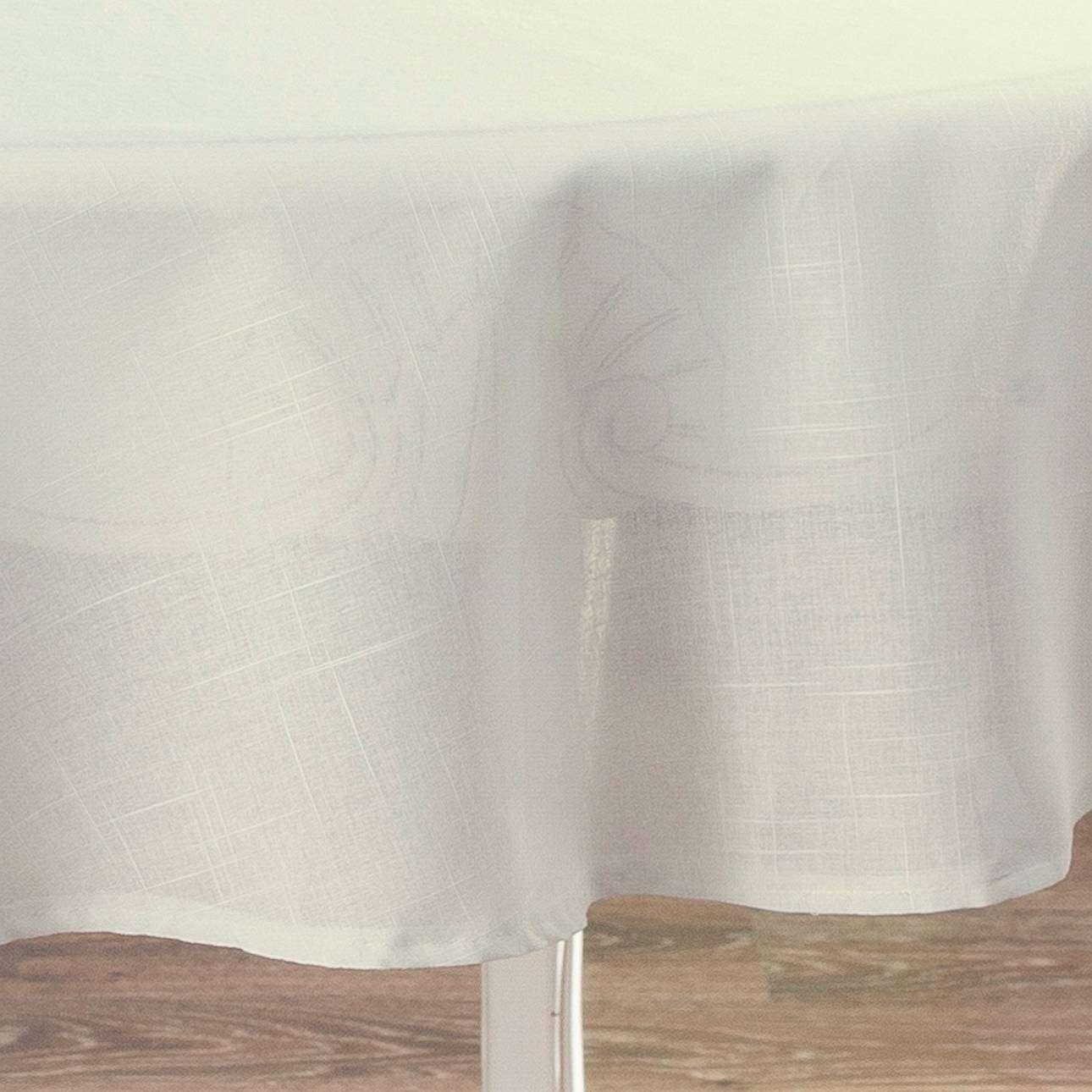 Obrus okrągły Ø 135 cm w kolekcji Romantica, tkanina: 128-88