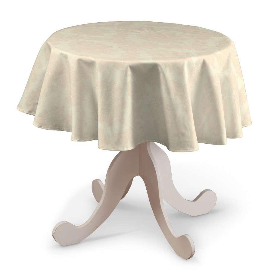 Kerek asztalterítő a kollekcióból Lakástextil Damasco, Dekoranyag: 613-01