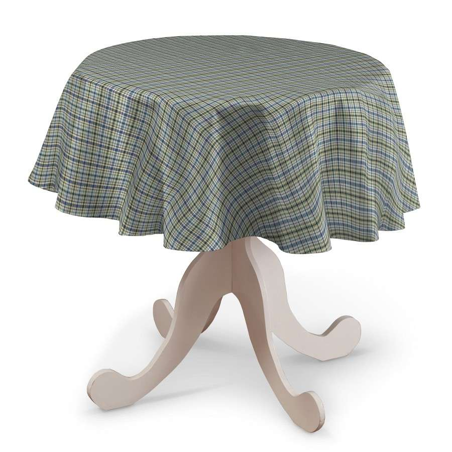 Round tablecloth Ø 135 cm (53 inch) in collection Bristol, fabric: 126-69