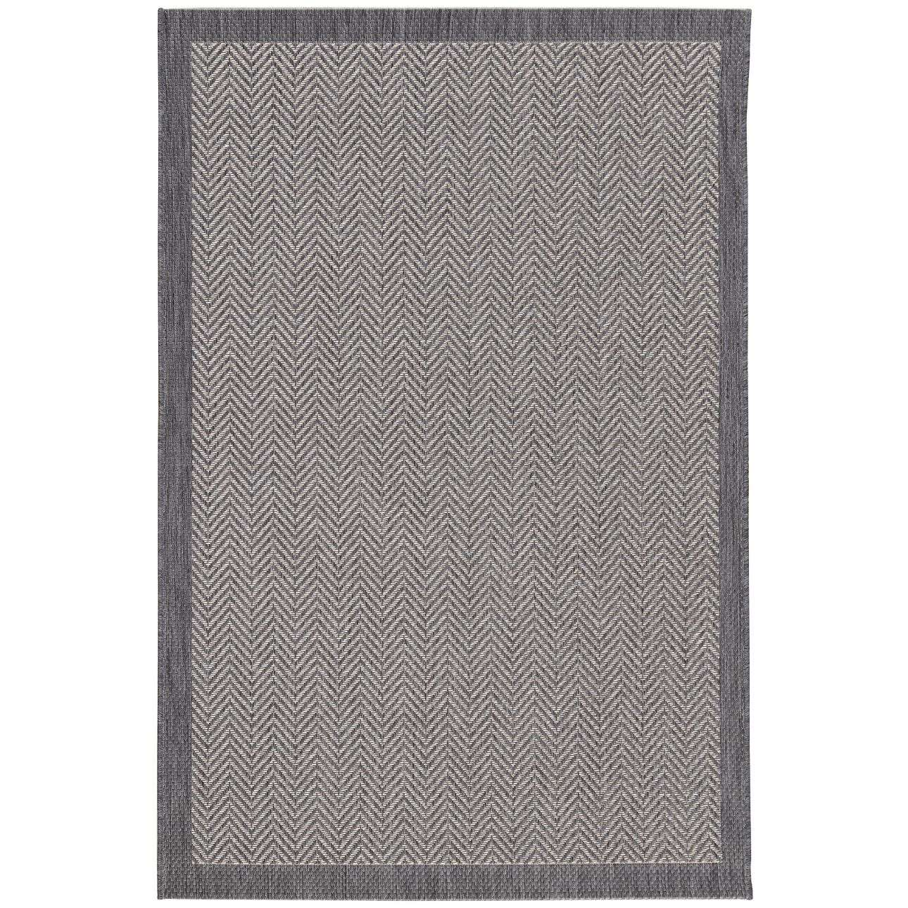 Breeze Cliff Grey Area Rug 160x230cm