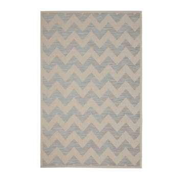 Dywan Modern Chevron wool/ ice blue 160x230 cm