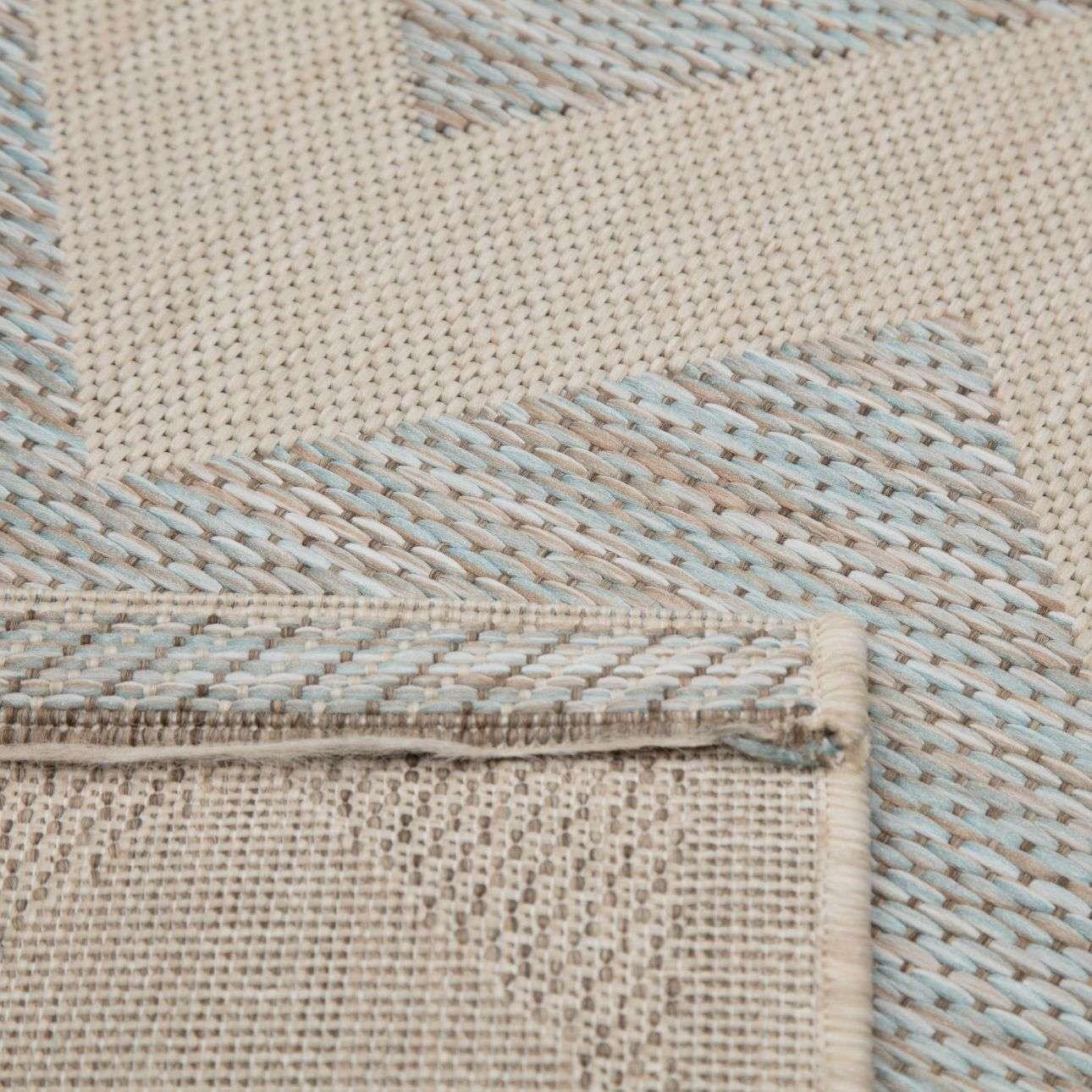 Dywan Modern Chevron wool/ ice blue 160x230 cm  160x230cm