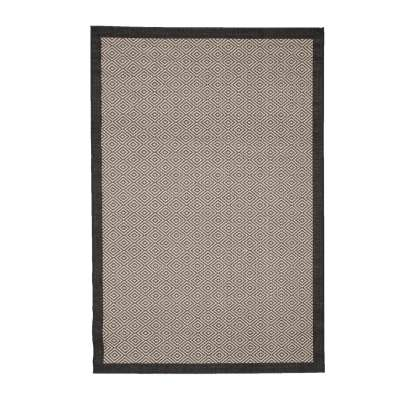 Dywan Modern Geometric black/ sand 160x230cm