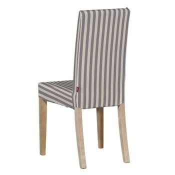Potah na židli IKEA  Harry, krátký v kolekci Quadro, látka: 136-02