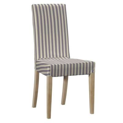 Harry chair cover 136-02 navy blue and white stripes (1.5cm) Collection Quadro