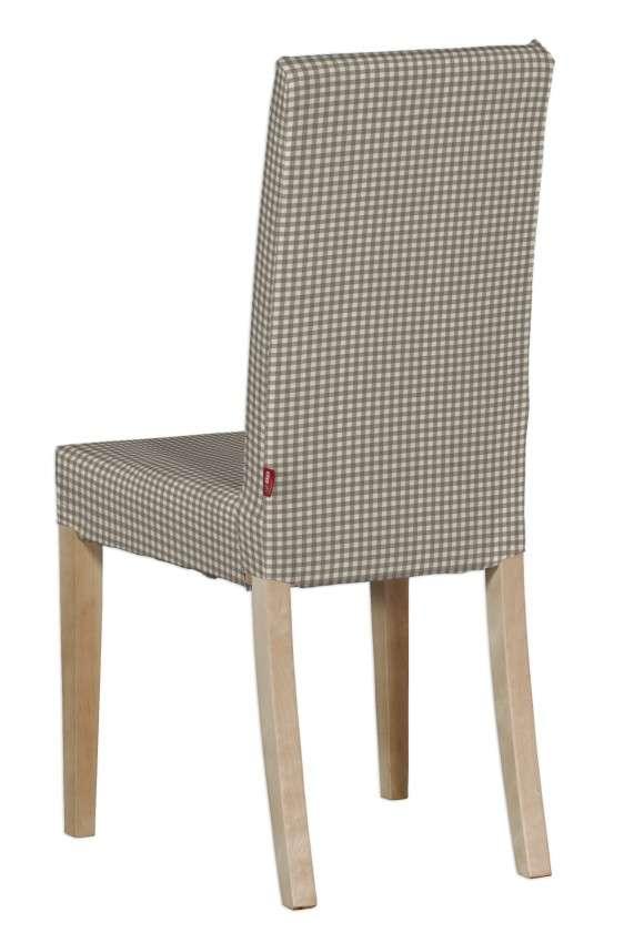 Harry kėdės užvalkalas - trumpas Harry kėdė kolekcijoje Quadro, audinys: 136-05