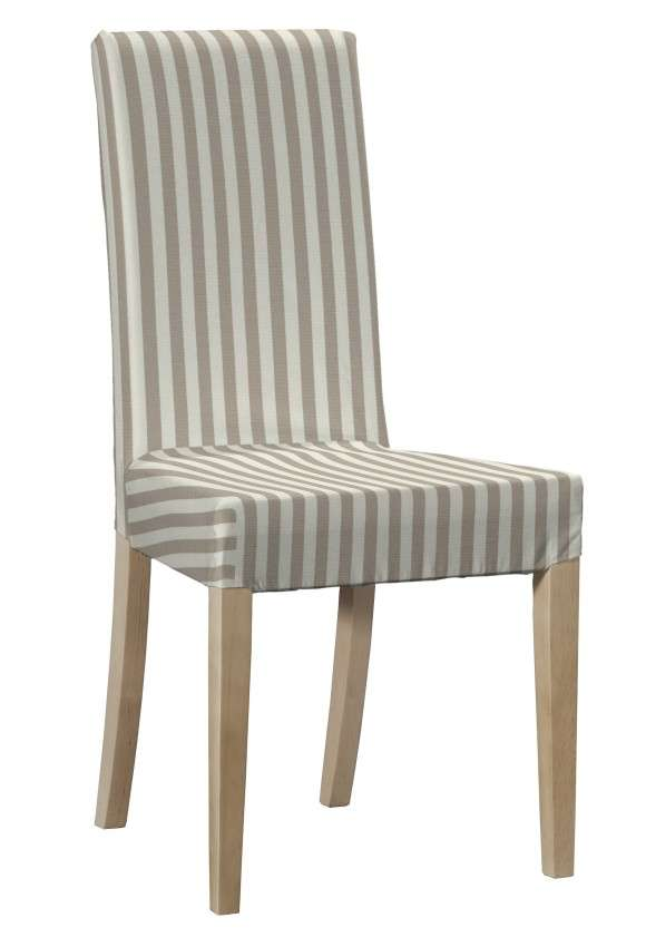 Potah na židli IKEA  Harry, krátký v kolekci Quadro, látka: 136-07