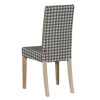 Harry kėdės užvalkalas - trumpas Harry kėdė kolekcijoje Quadro, audinys: 136-11