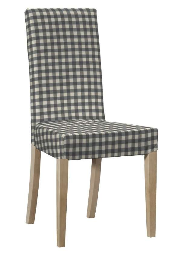 Potah na židli IKEA  Harry, krátký v kolekci Quadro, látka: 136-11