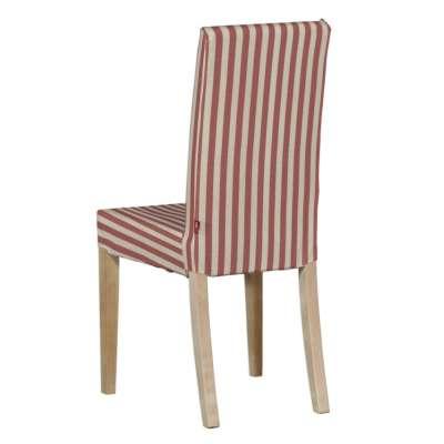 Návlek na stoličku Harry (krátky) 136-17 červeno-biele prúžky Kolekcia Quadro