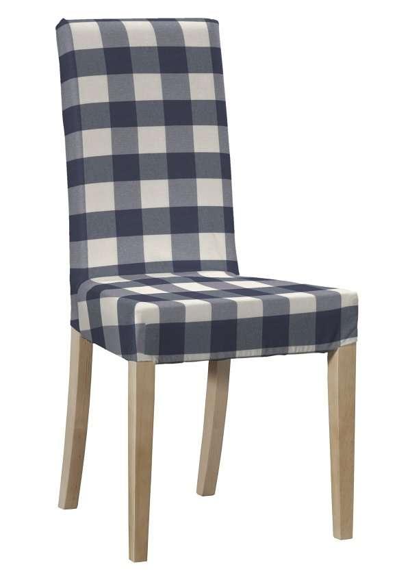 Návlek na stoličku Harry (krátky) V kolekcii Quadro, tkanina: 136-03