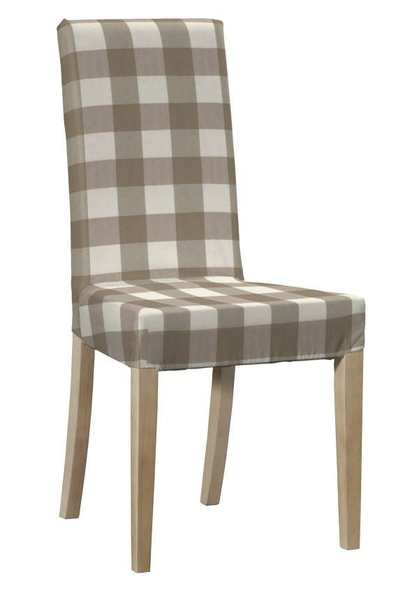 Potah na židli IKEA  Harry, krátký v kolekci Quadro, látka: 136-08