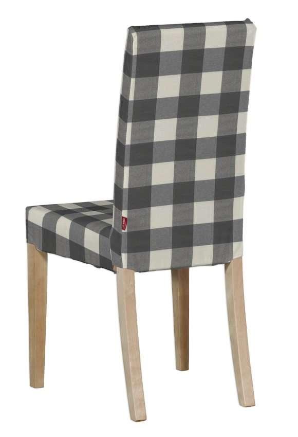 Potah na židli IKEA  Harry, krátký v kolekci Quadro, látka: 136-13