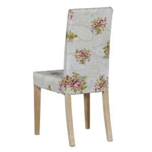 Harry kėdės užvalkalas - trumpas Harry kėdė kolekcijoje Flowers, audinys: 311-15