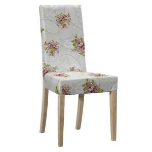 Sukienka na krzesło Harry krótka krzesło Harry w kolekcji Flowers, tkanina: 311-15