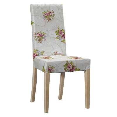 Harry kėdės užvalkalas - trumpas 311-15 Rožės šviesiame fone Kolekcija NUOLAIDOS