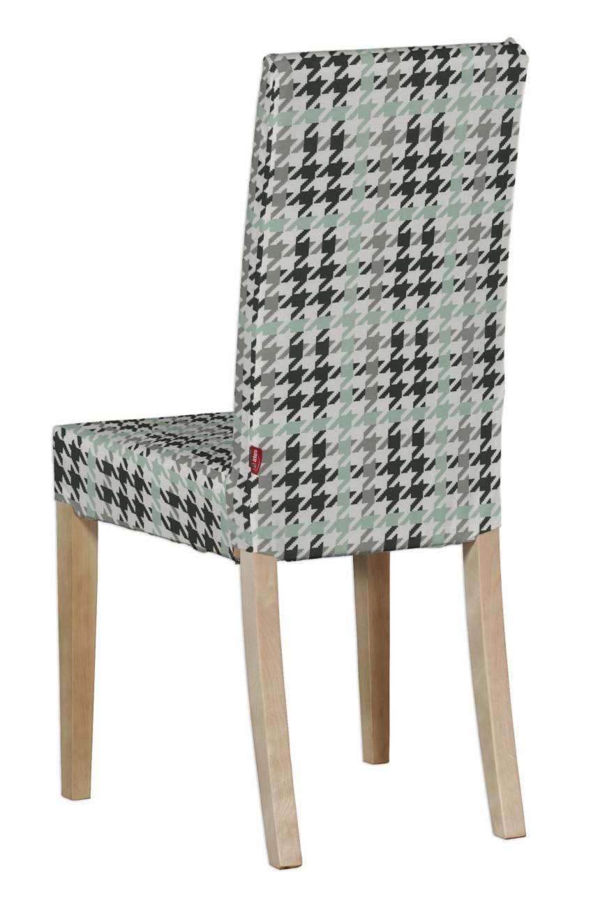 Harry kėdės užvalkalas - trumpas Harry kėdė kolekcijoje Brooklyn, audinys: 137-77