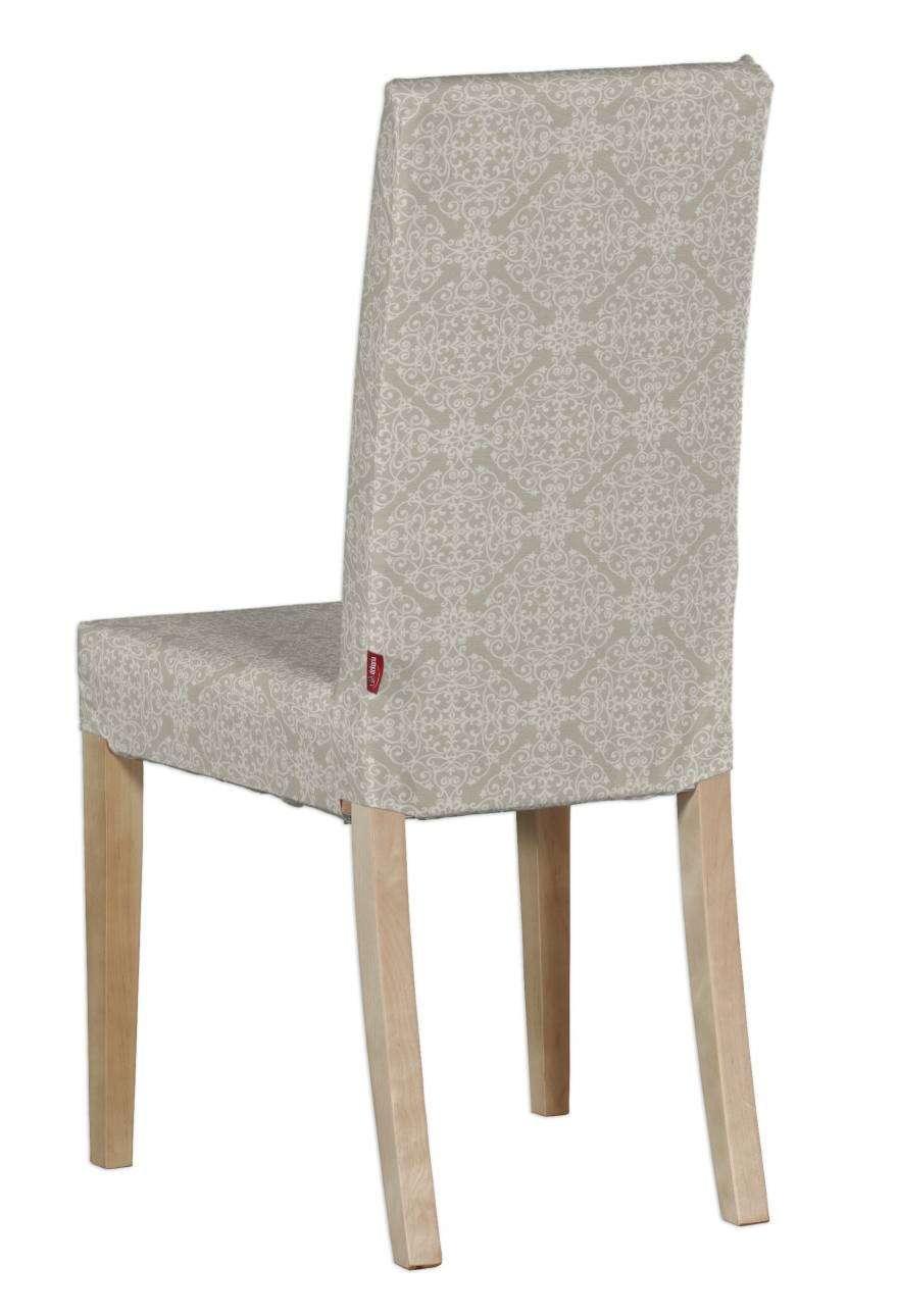 Harry kėdės užvalkalas - trumpas Harry kėdė kolekcijoje Flowers, audinys: 140-39
