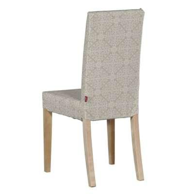 Sukienka na krzesło Harry krótka 140-39 wzory na beżowym tle Kolekcja Flowers