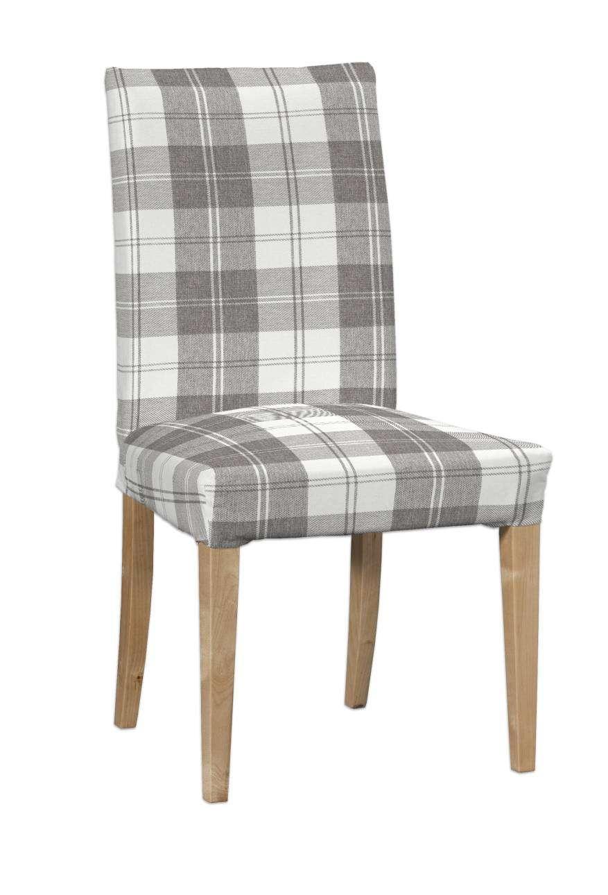 Sukienka na krzesło Henriksdal krótka krzesło Henriksdal w kolekcji Edinburgh, tkanina: 115-79