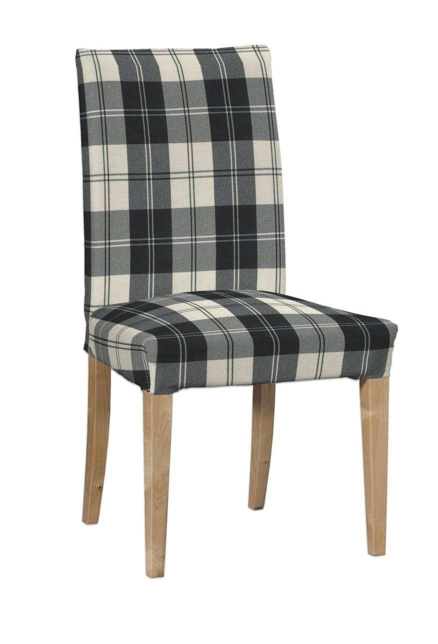 Potah na židli IKEA  Henriksdal, krátký v kolekci Edinburgh, látka: 115-74