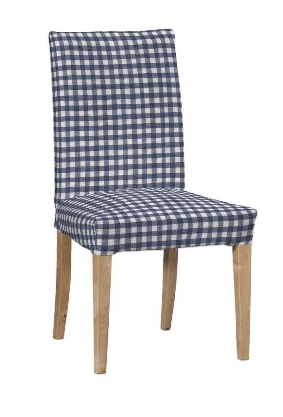 Návlek na stoličku Henriksdal (krátky) V kolekcii Quadro, tkanina: 136-01