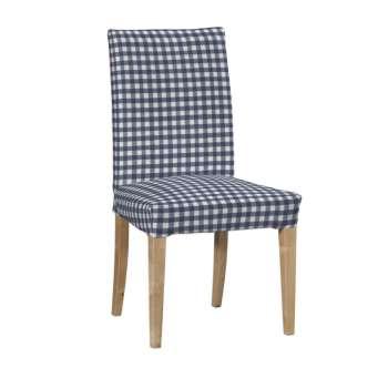 Sukienka na krzesło Henriksdal krótka krzesło Henriksdal w kolekcji Quadro, tkanina: 136-01