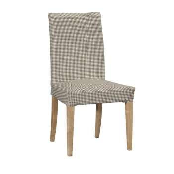 Potah na židli IKEA  Henriksdal, krátký židle Henriksdal v kolekci Quadro, látka: 136-05