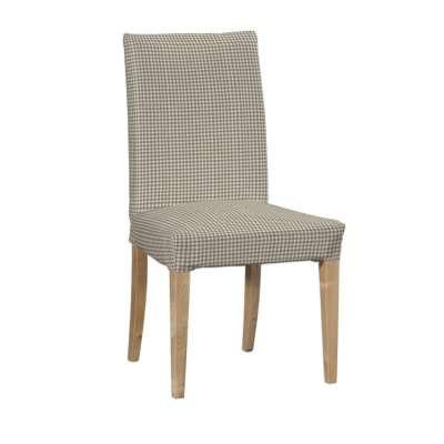 Návlek na stoličku Henriksdal (krátky) V kolekcii Quadro, tkanina: 136-05