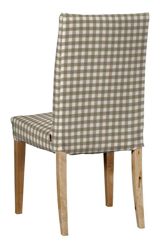 Návlek na stoličku Henriksdal (krátky) V kolekcii Quadro, tkanina: 136-06