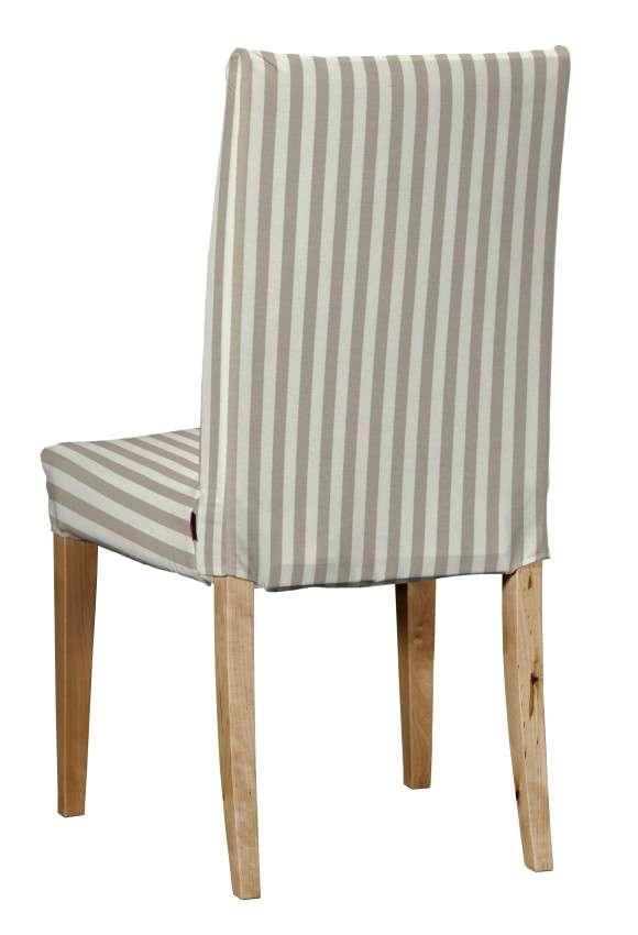 Návlek na stoličku Henriksdal (krátky) V kolekcii Quadro, tkanina: 136-07