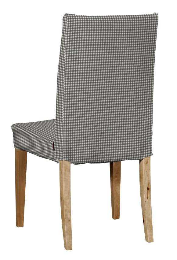 Henriksdal kėdės užvalkalas - trumpas Henriksdal kėdė kolekcijoje Quadro, audinys: 136-10