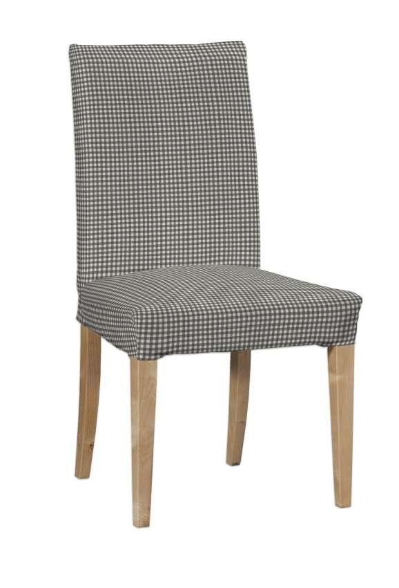 Návlek na stoličku Henriksdal (krátky) V kolekcii Quadro, tkanina: 136-10