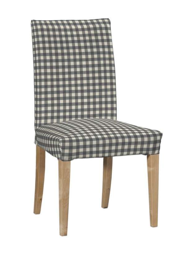 Sukienka na krzesło Henriksdal krótka krzesło Henriksdal w kolekcji Quadro, tkanina: 136-11