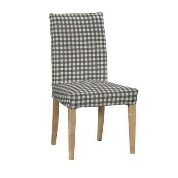Potah na židli IKEA  Henriksdal, krátký židle Henriksdal v kolekci Quadro, látka: 136-11