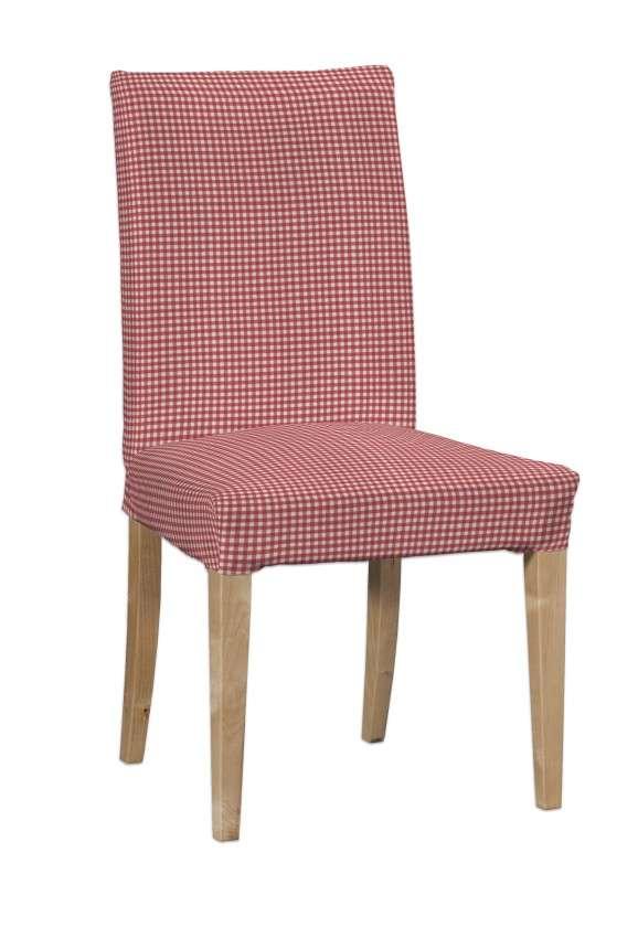 Sukienka na krzesło Henriksdal krótka krzesło Henriksdal w kolekcji Quadro, tkanina: 136-15