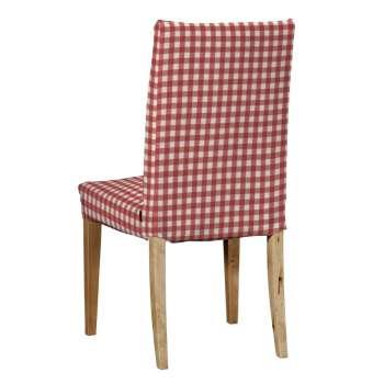 Sukienka na krzesło Henriksdal krótka krzesło Henriksdal w kolekcji Quadro, tkanina: 136-16