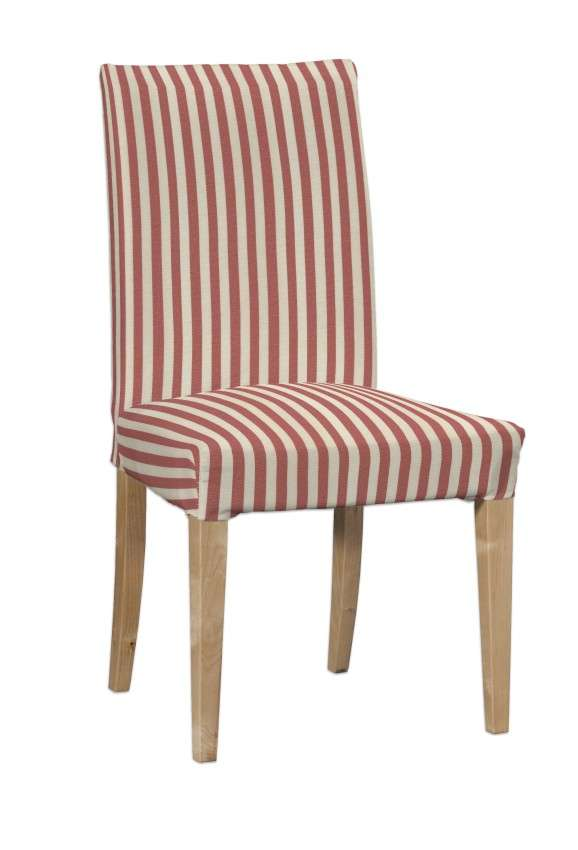 Návlek na stoličku Henriksdal (krátky) V kolekcii Quadro, tkanina: 136-17