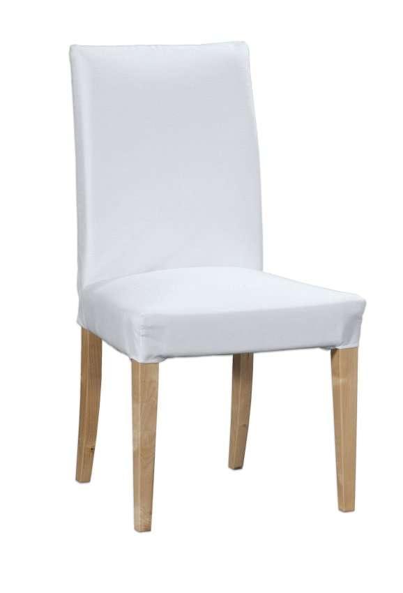 Henriksdal kėdės užvalkalas - trumpas Henriksdal kėdė kolekcijoje Cotton Panama, audinys: 702-34