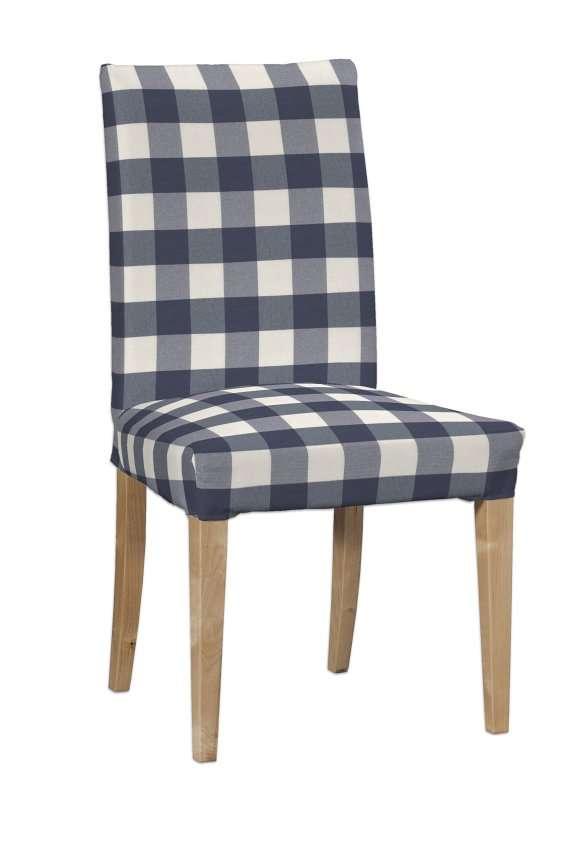 Henriksdal kėdės užvalkalas - trumpas Henriksdal kėdė kolekcijoje Quadro, audinys: 136-03