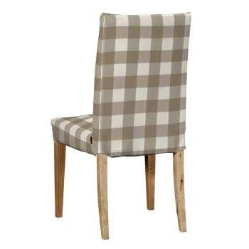 Potah na židli IKEA  Henriksdal, krátký v kolekci Quadro, látka: 136-08