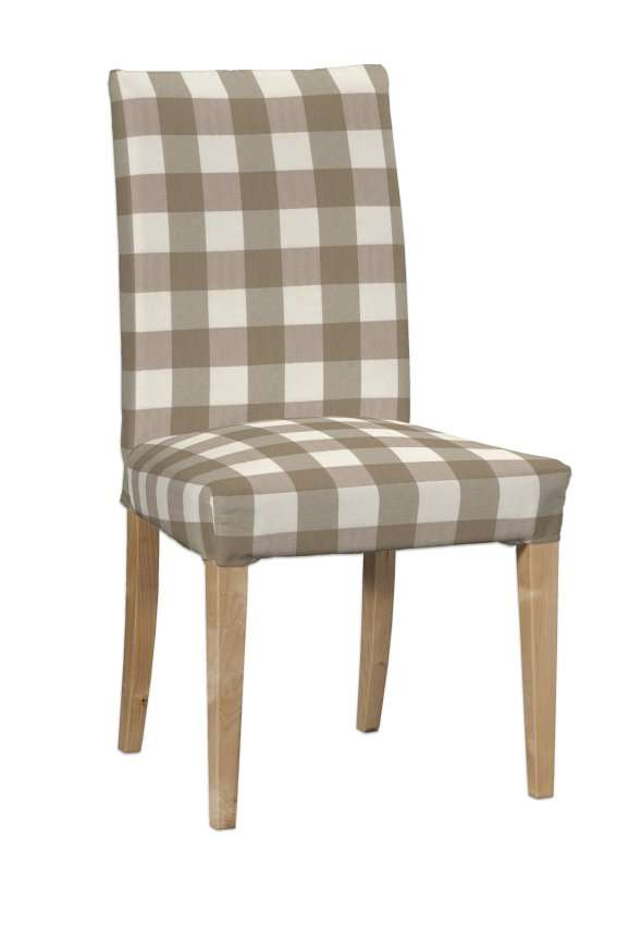 Henriksdal kėdės užvalkalas - trumpas Henriksdal kėdė kolekcijoje Quadro, audinys: 136-08