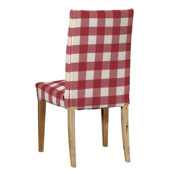 Potah na židli IKEA  Henriksdal, krátký židle Henriksdal v kolekci Quadro, látka: 136-18