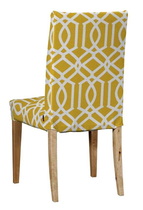 Sukienka na krzesło Henriksdal krótka krzesło Henriksdal w kolekcji Comics, tkanina: 135-09