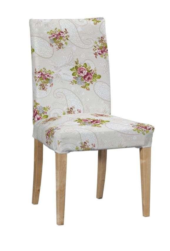 Sukienka na krzesło Henriksdal krótka krzesło Henriksdal w kolekcji Flowers, tkanina: 311-15