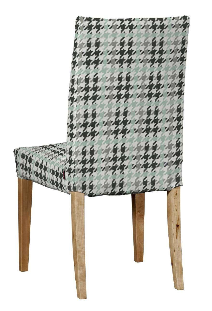 Potah na židli IKEA  Henriksdal, krátký židle Henriksdal v kolekci Brooklyn, látka: 137-77