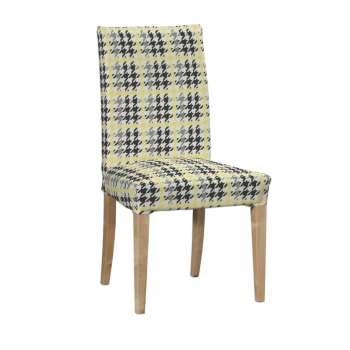 Sukienka na krzesło Henriksdal krótka krzesło Henriksdal w kolekcji Brooklyn, tkanina: 137-79