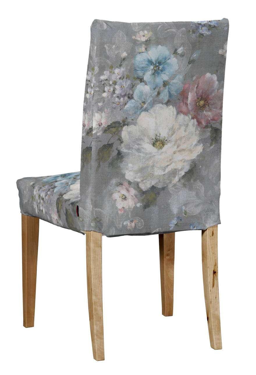 Potah na židli IKEA  Henriksdal, krátký židle Henriksdal v kolekci Monet, látka: 137-81