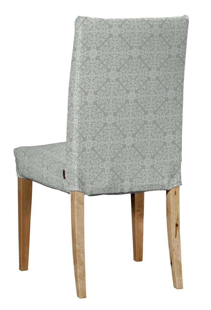 Potah na židli IKEA  Henriksdal, krátký židle Henriksdal v kolekci Flowers, látka: 140-38