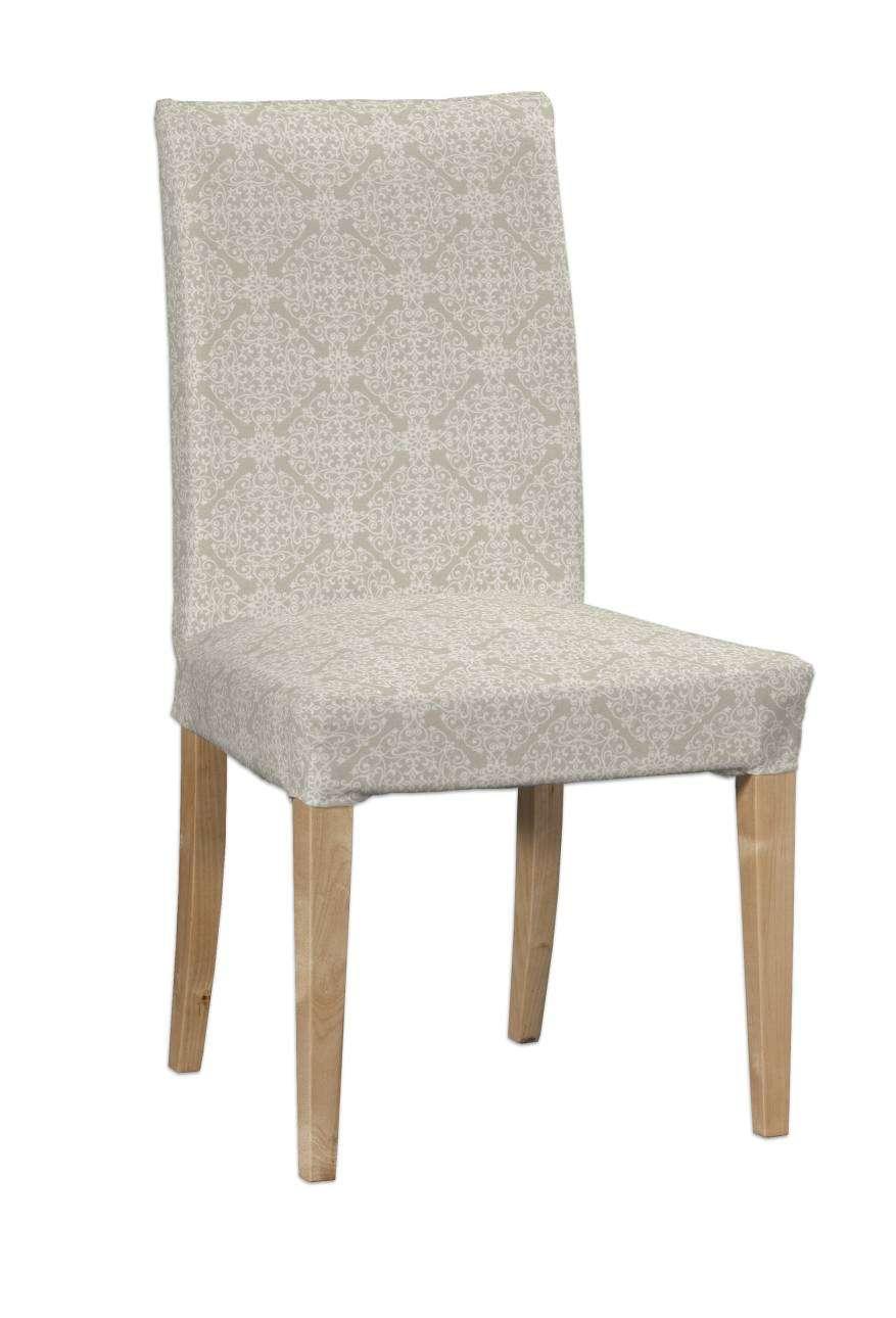 Potah na židli IKEA  Henriksdal, krátký židle Henriksdal v kolekci Flowers, látka: 140-39